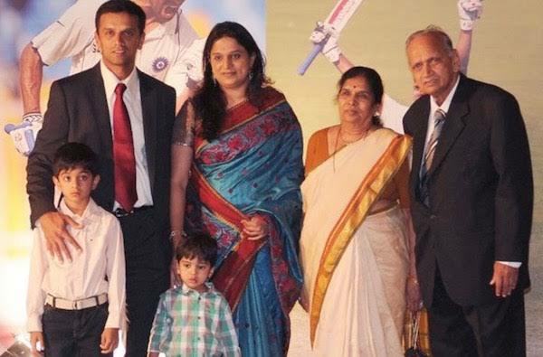 Rahul Dravid wife