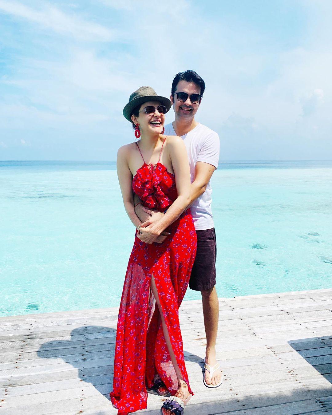 Kajal Aggarwal Honeymoon photoes