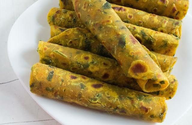 thepla gujarati food