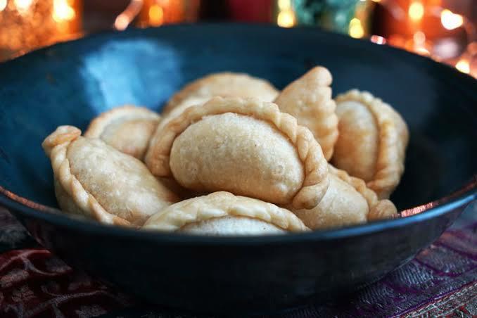 Ghugra Gujarati Sweet