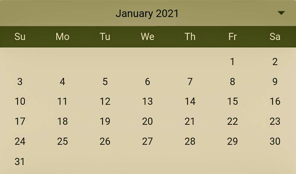 Hindu Pelli muhurthalu in January 2021