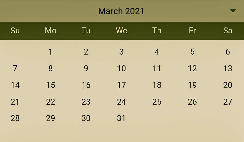 Hindu Pelli muhurthalu in March 2021