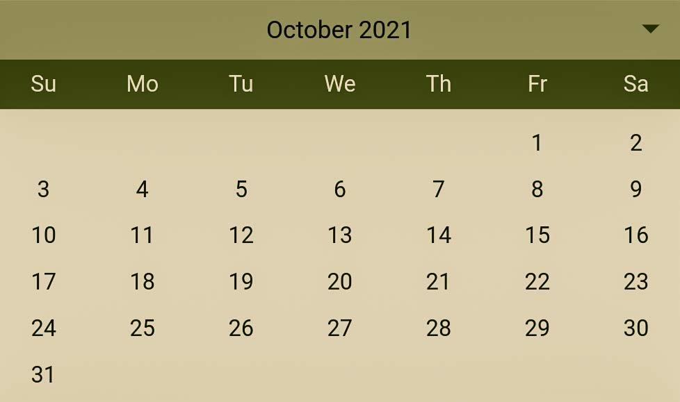 Hindu Pelli muhurthalu in October 2021