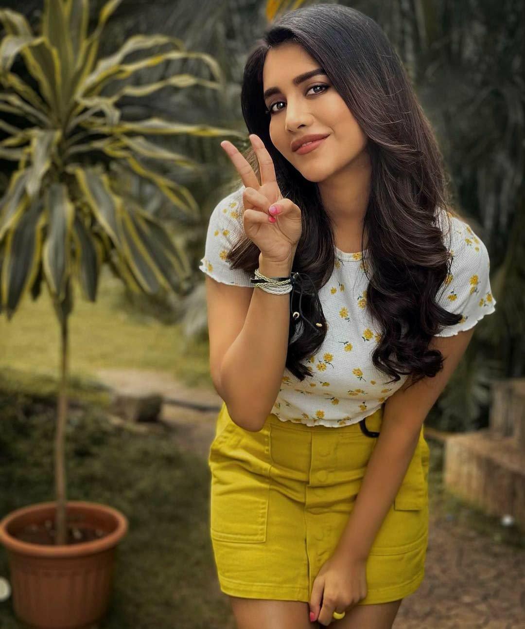 Nabha natesh pose