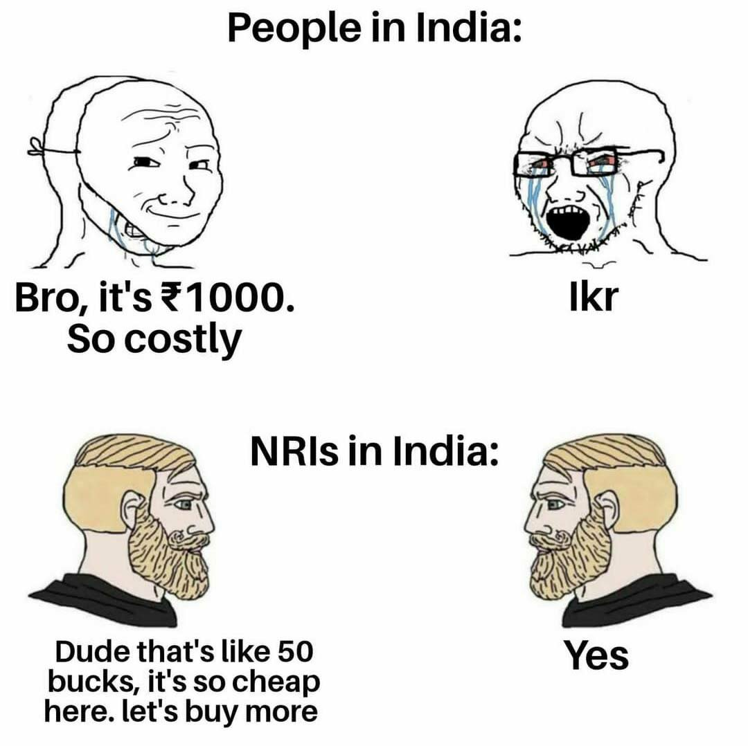 Rich NRI memes