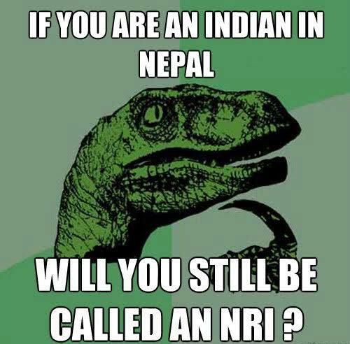 Nepal NRI memes