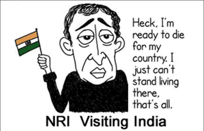 Patriotic NRI memes