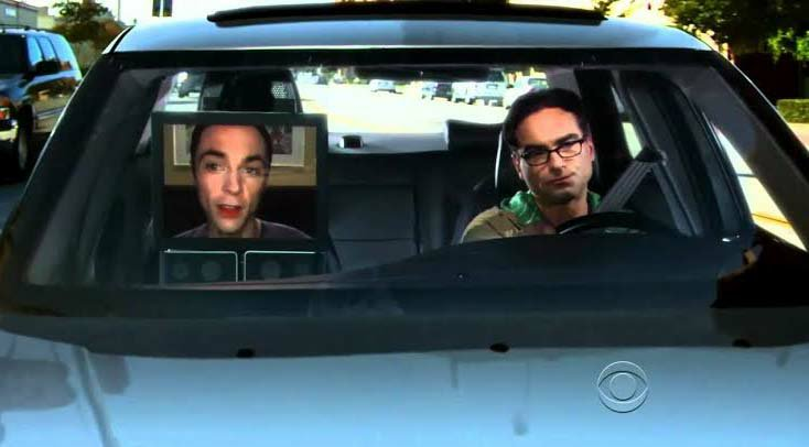Most paused scenes in Big Bang theory Sit-Com