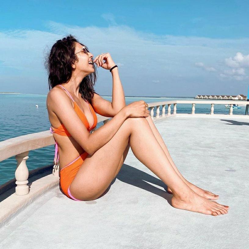Bollywood actress Rakul Preet Singh Maldives pictures