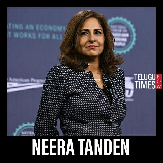 Neera Tanden white House staff in Biden-Harris administration