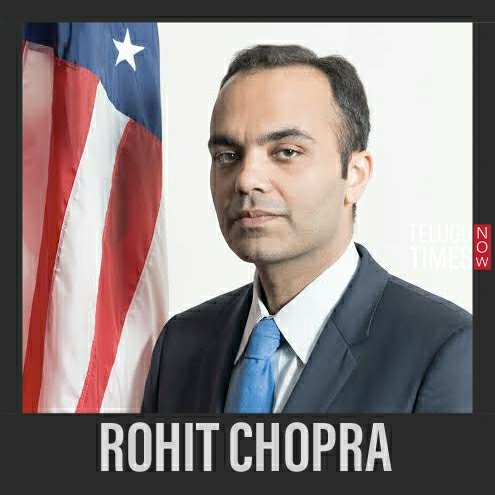 Rohith Chopra Indian American white House staff in Biden-Harris administration